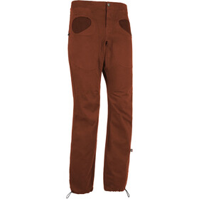 E9 Rondo Slim Trousers Men brick